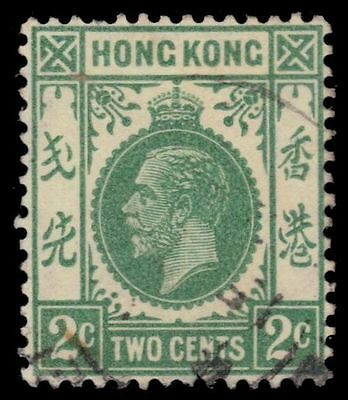 "HONG KONG 130i (SG118a) - King George V ""1932 Yellow Green"" (pf70789)"