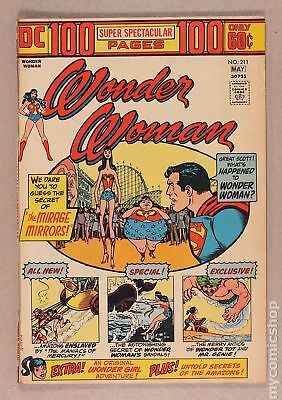 Wonder Woman (1st Series DC) #211 1974 GD/VG 3.0