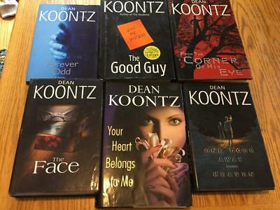 Dean Koontz Lot 8 Odd Thomas Forever Brother Hours Deeply Interlude