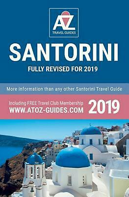 To Z Guide to Santorini 2019 by Tony Oswin (English) Paperback Book Free Shippin