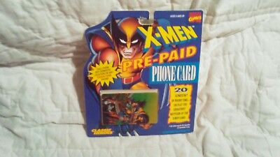 1994 Marvel X-MEN Prepaid Phone Calling Cards   Expired