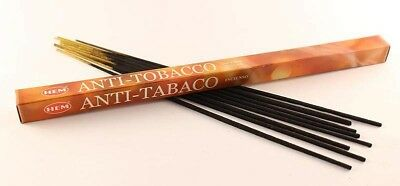 ANTI TOBACCO BULK HEM INCENSE STICKS - 10 x Packets - 80 Sticks