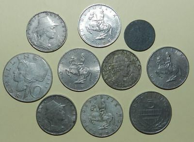 AUSTRIA : COLLECTION OF 10 OLDER COINS - Including Silver