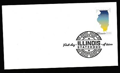 US 5274 Statehood Illinois BWP FDC 2018