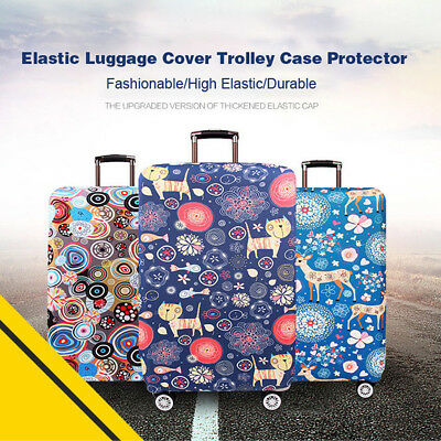 "18-32""Travel Luggage Suitcase Cover Protector Elastic Scratch Dustproof Bag Case"