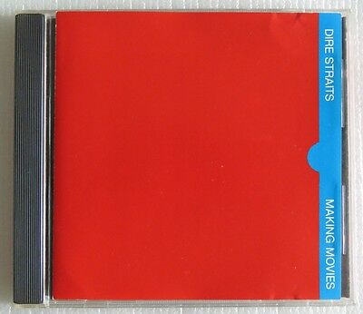 DIRE STRAITS MAKING MOVIES CD MADE IN BRAZIL 1st PRESSING 1989 WITHOUT BARCODE