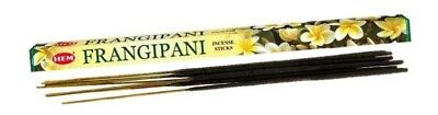 FRANGIPANI BULK HEM INCENSE STICKS - 10 x Packets - 80 Sticks