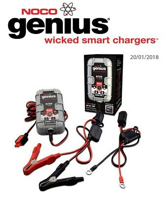 Indian Roadmaster 1800 ABS 2015 Noco Genuis UltraSafe Battery Charger (G750)
