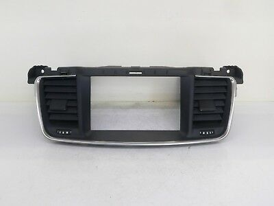 Peugeot 508 Central Console Trim Radio Display Frame Navi 9686446277