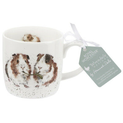 Royal Worcester Wrendale Lettuce Be Friends Fine Bone China Mug