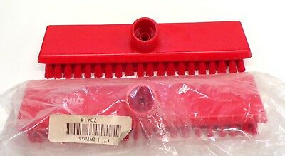 """Vikan Replacement Brush Head, 2Rwg5, 10 3/4"""" Length, Polyester, Lot Of 2"""