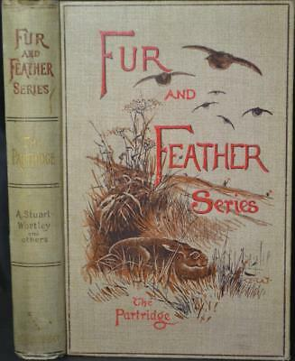 Fur & Feather Series THE PARTRIDGE 1894 Shooting Natural History Cooking