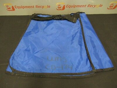 Wolf X-Ray Protection Protective Lead Apron Skirt 0.5mm Blue
