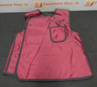 AliMed 920159 X-Ray Protection Protective Lead Apron Red