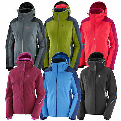 Brilliant M Women's Ski Hooded Salomon Snowboard Jacket wZiPTOukXl