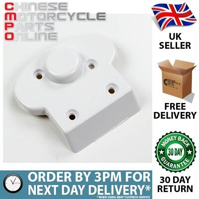 White Number Plate / License Bracket (Rear) Rear Part W002 (NPLBR026)
