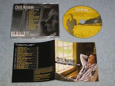Chris Norman Coming Home deleted German CD 2006 (Charm, CHARCD01) Smokie, glam