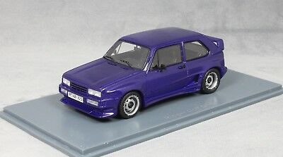 Neo Models Volkswagen VW Golf Mk1 GTO by Rieger in Violet Blue 45825 1/43 NEW