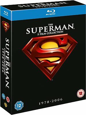 The SUPERMAN 5 Film COLLECTION 5 Movie Set Blu-Ray BRAND NEW Free Ship