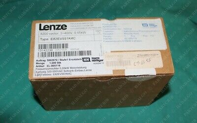 Lenze, E82EV551K4C, Frequency Inverter 8200vector 3-400V 0.55kW