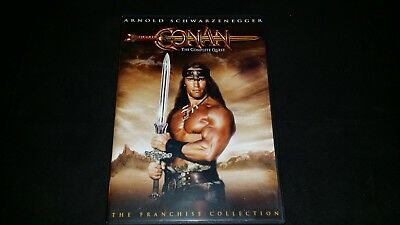 Conan The Complete Quest Dvd Movie Video Film Disc Arnold Schwarzenegger Action