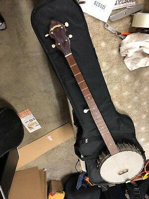 Vintage 1960s Tradition 5 string Plectrum Banjo Nice w/Kluson Tuners Made in USA