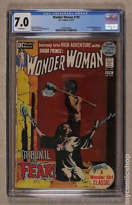 Wonder Woman (1st Series DC) #199 1972 CGC 7.0 0320576004