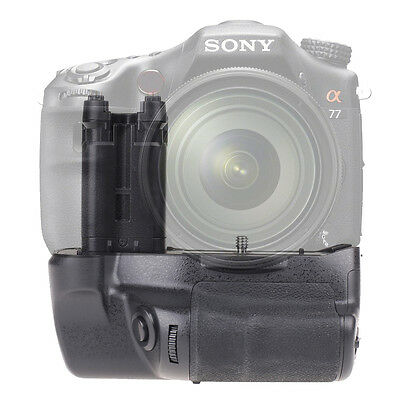 Battery Grip Pack Holder For SONY STL-A77 A77V A77 II A99 II Camera As VG-C77AM