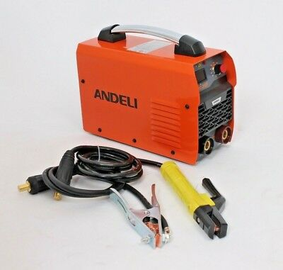New Portable 200 Amp Dc Mma Arc Stick Welder Machine Inverter 240V With Lift Tig
