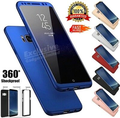 Case For Samsung Galaxy S7 S8 S9 Plus Ultrathin ShockProof Hybrid 360 TPU Cover