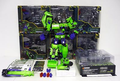 NEW Transformers TFC TOYS Hercules Devastator Exgraver figure MISB IN STOCK