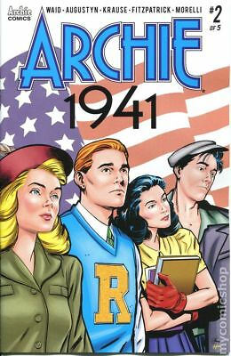 Archie 1941 (Archie) #2A 2018 Krause Variant VF Stock Image