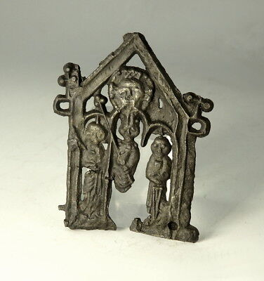 Medieval Pewter Pilgrim Badge (M258)
