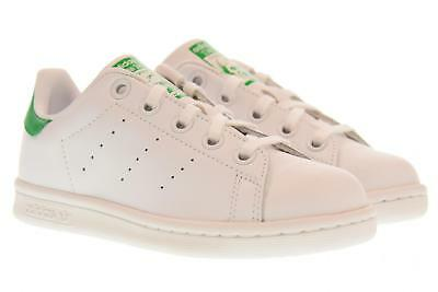 new product beedc 061c5 Adidas scarpe bambinoa sneakers basse BA8375 STAN SMITH C P19