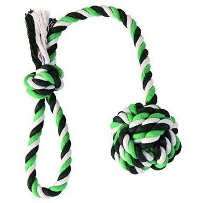 Trixie Denta Fun Playing Rope With Woven In Ball For Dog, 30 x 5.5cm - Dog Toy
