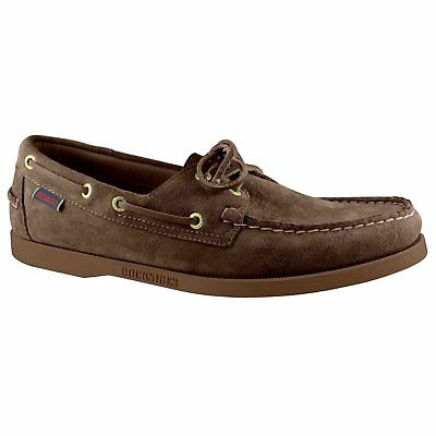 59b94f9f3e3 Sebago Dockside Portland Footwear Slip On Shoes - Dark Brown Gum Suede All  Sizes