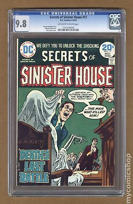 Secrets of Sinister House #17 1974 CGC 9.8 1101330003