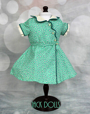 NEW American Girl Doll KIT First Version Birthday Dress Tagged AG Green Floral