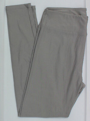 9d37d2f014091 TC LuLaRoe Tall Curvy Leggings Solid Gray Grey Rare Unicorn Buttery Soft  NWT 51