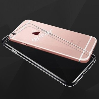 Luxury Ultra Slim Shockproof Silicone Clear Case Cover for iPhone 6s Plus New UK