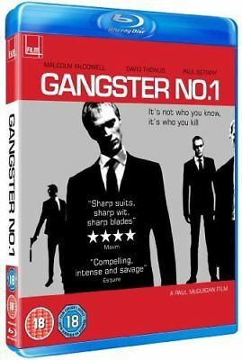 GANGSTER NO. 1 (2000 - Gangster Number One) Blu-Ray BRAND NEW Free Shipping