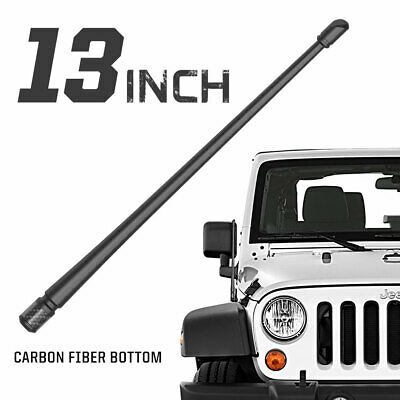 "Rydonair 13"" Radio Antenna Mast Compatible with Jeep Wrangler JK JL 2007-2019"