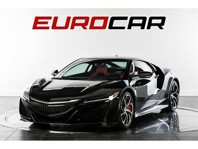 2017 NSX SH-AWD Sport Hybrid 2017 ACURA NSX, STUNNING BLACK OVER RED, ONLY 1590 MILES!!
