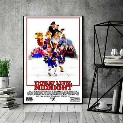 The Office Threat Level Midnight Characters Portrait Poster Unframed US Supplier