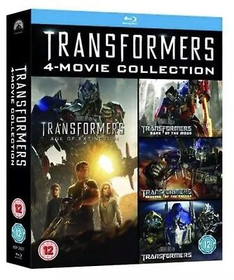 Transformers Complete 4-Movie Collection Blu-ray - BRAND NEW W/SLIPCASE