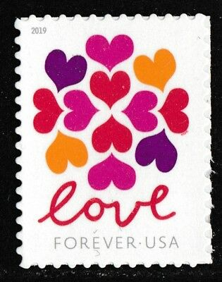 US 5339 Love Hearts Blossom forever single (1 stamp) MNH 2019