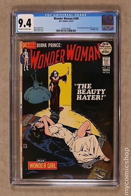 Wonder Woman (1st Series DC) #200 1972 CGC 9.4 0320576005