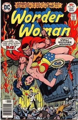 Wonder Woman (1st Series DC) #227 1976 VG+ 4.5 Stock Image Low Grade