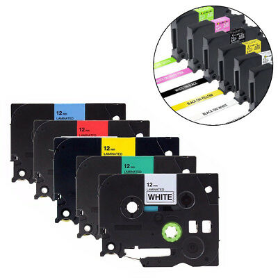 Compatible Brother TZ Tze 631 Label Tape Printer P-Touch Laminated 18mm/12mm/9mm