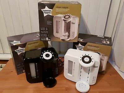 Tommee Tippee Perfect Prep Machine Black or white - Boxed